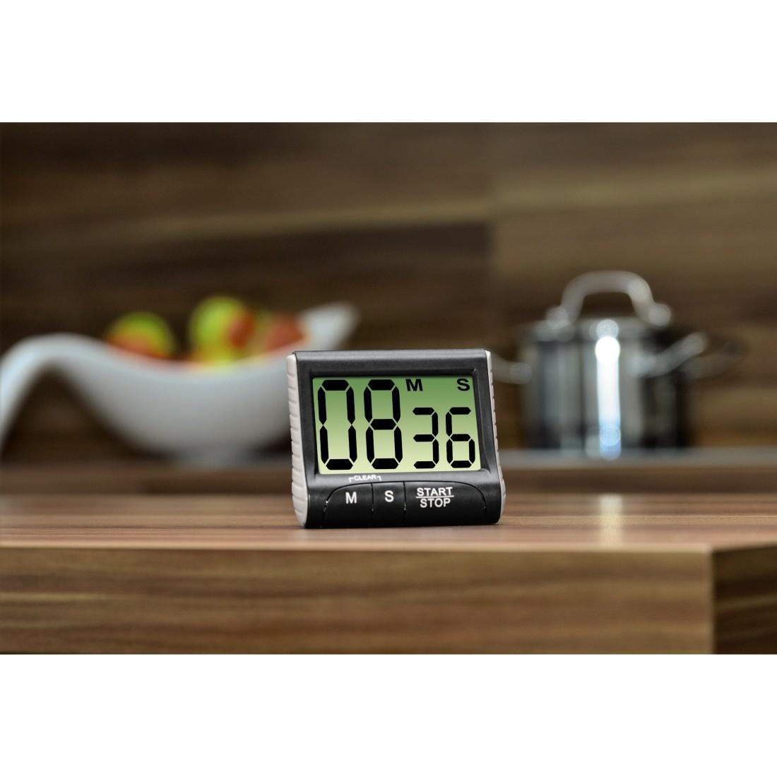 """numérique noir Xavax Minuteur de cuisine /""""Countdown/"""""""