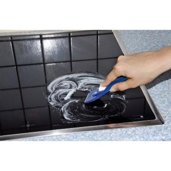 00110702 xavax racloir verre pour plaques de for Nettoyage plaque cuisson verre