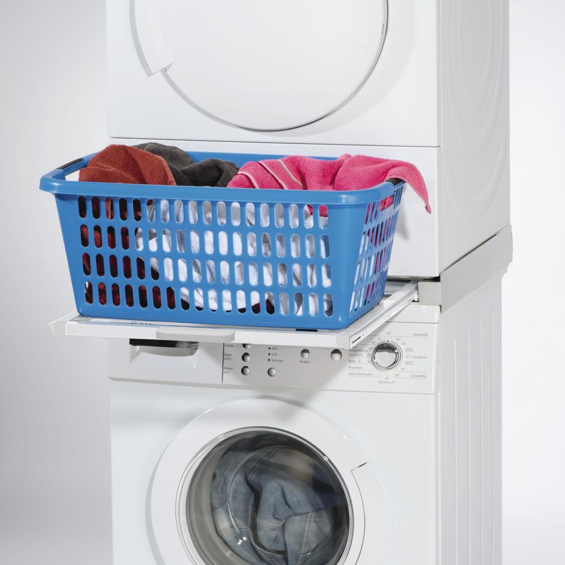 Machine À Laver Et Sèche Linge Intégré 00110225 xavax kit de superposition pr lave-linge/sèche