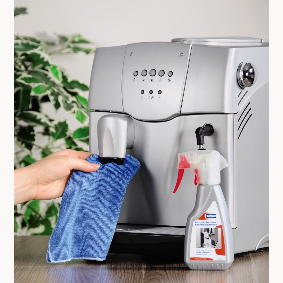 awx2 High-Res Appliance 2 - Xavax, Coffee Clean Special Cleaner for Fully Automatic Coffee Machines