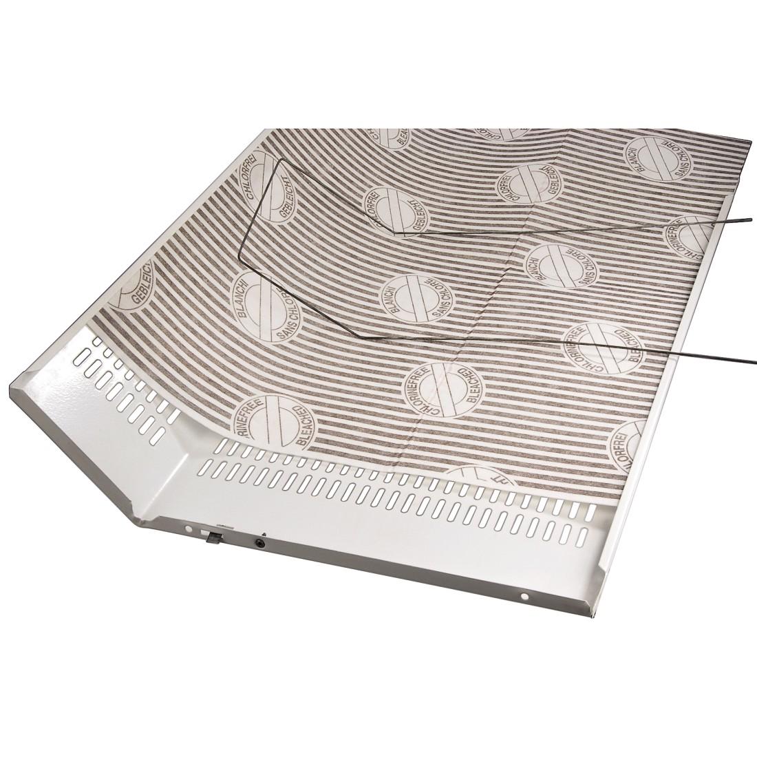 00110830 xavax filtre plat pour hottes aspirantes lot de 2. Black Bedroom Furniture Sets. Home Design Ideas