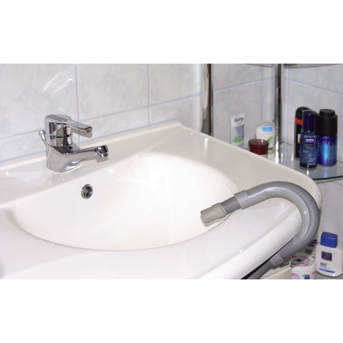 00110958 xavax tuyau d 39 vacuation d 39 eau pour lave linge lave vaisselle 2 50 m 1 p. Black Bedroom Furniture Sets. Home Design Ideas