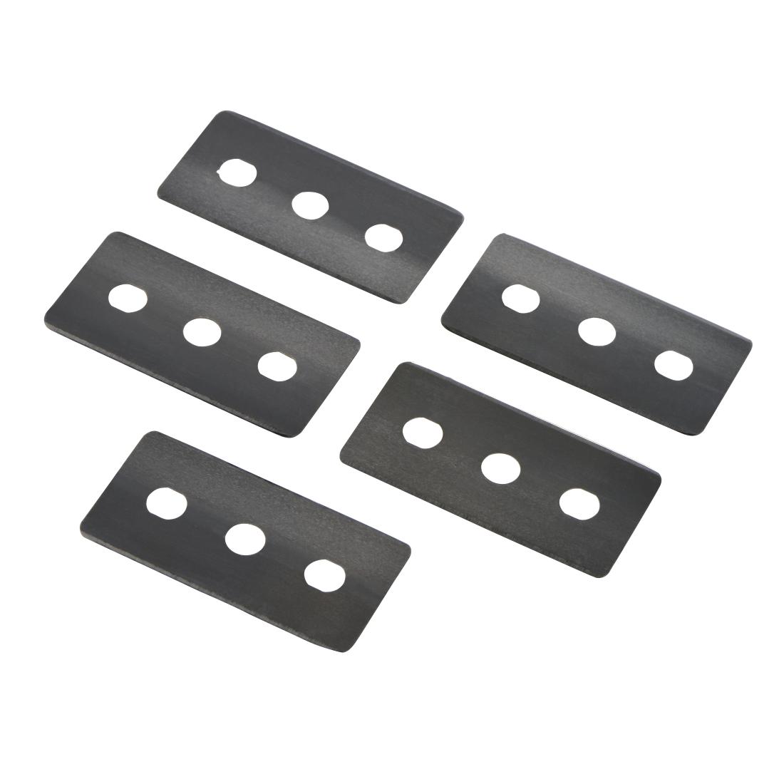00111096 xavax lames de rechange pour racloir sp cial tables de cuisson vitroc ramiques. Black Bedroom Furniture Sets. Home Design Ideas