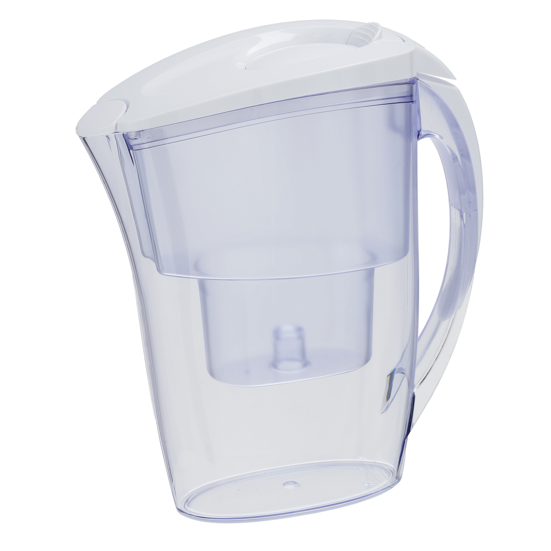 abx High-Res Image - Xavax, Water Filter Jug with 2 Filter Cartridges, 2.4 l, white