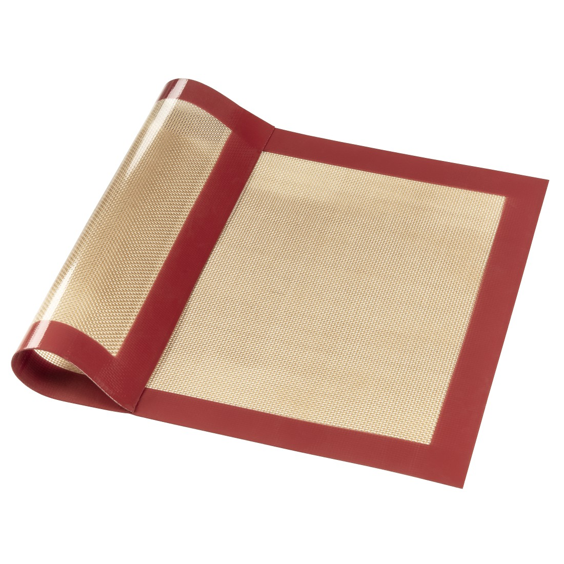 abx High-Res Image - Xavax, Silicon Baking Mat, Square, 40 x 30 cm, red-brown