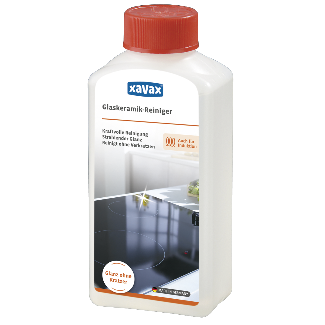 Produit Pour Nettoyer Vitroceramique 00111726 xavax nettoyant pour plaque vitrocéramique, 250 ml