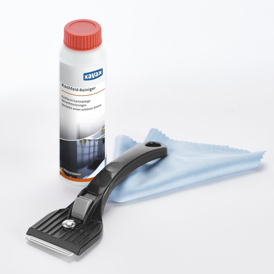 Produit Pour Nettoyer Vitroceramique 00111752 xavax kit de nettoyage pr plaque cuisson, 3 p