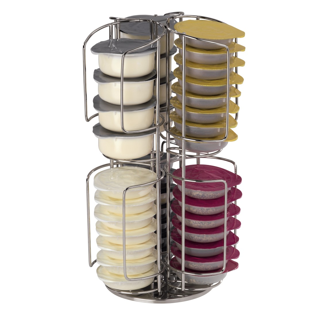 00111070 xavax kaffee kapselst nder rondello f r tassimo 48 kapseln. Black Bedroom Furniture Sets. Home Design Ideas