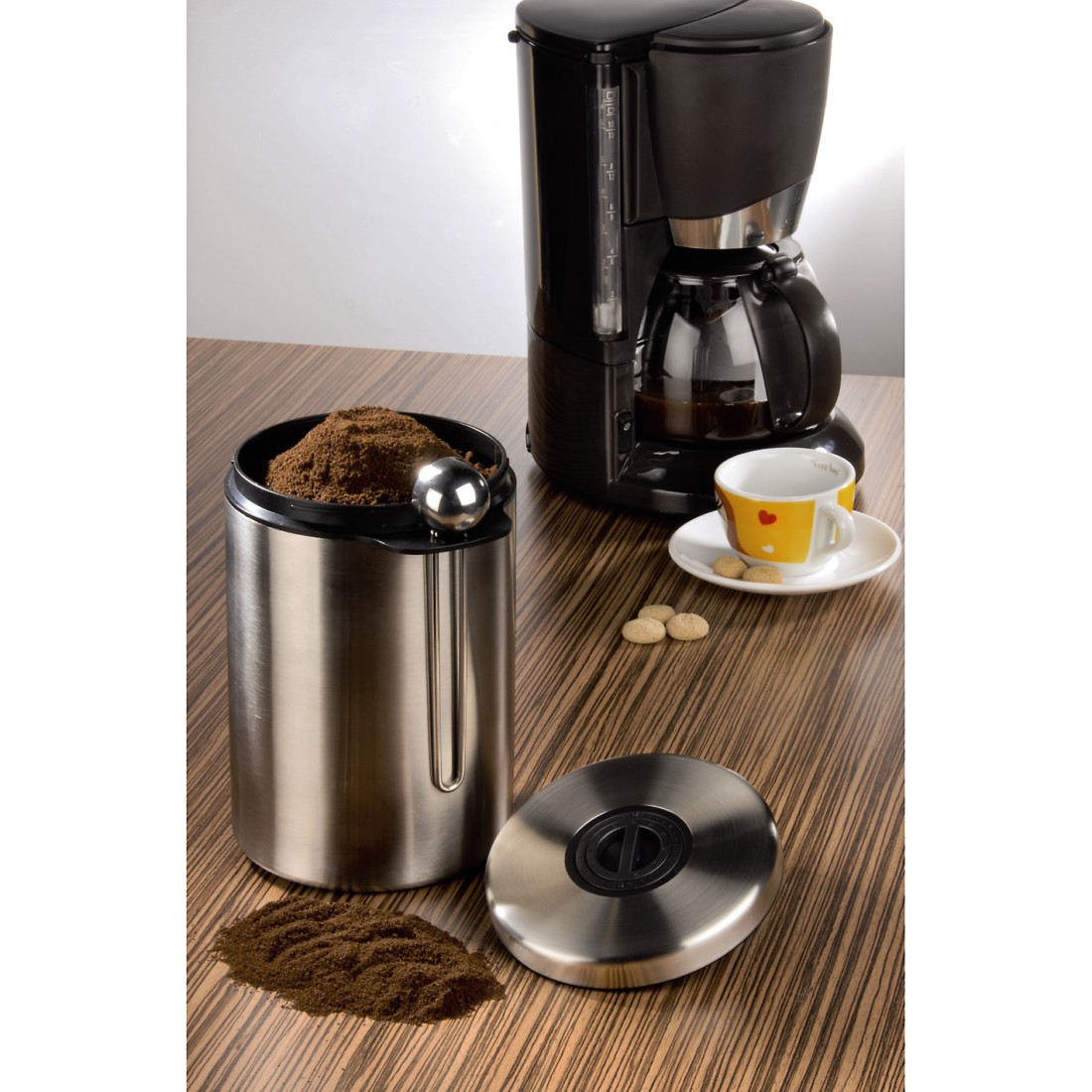 awx2 High-Res Appliance 2 - Xavax, Stainless Steel Container for 1 kg of Coffee Beans