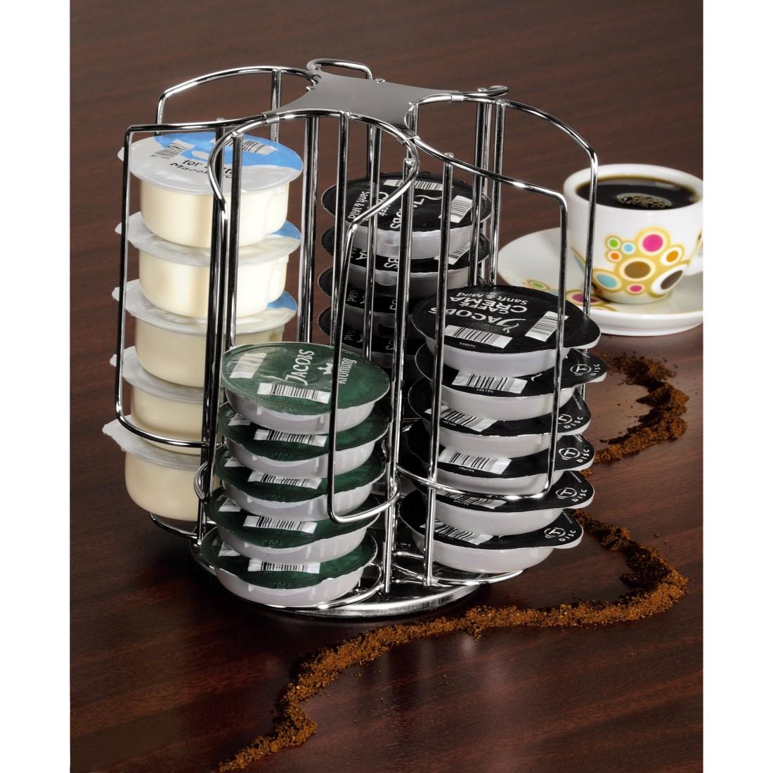 00111181 xavax kaffee kapselst nder rondelino f r tassimo 40 kapseln. Black Bedroom Furniture Sets. Home Design Ideas