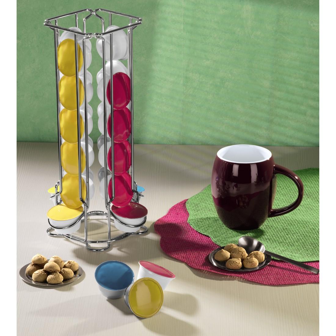 00111190 xavax kaffee kapselst nder colonna f r dolce. Black Bedroom Furniture Sets. Home Design Ideas