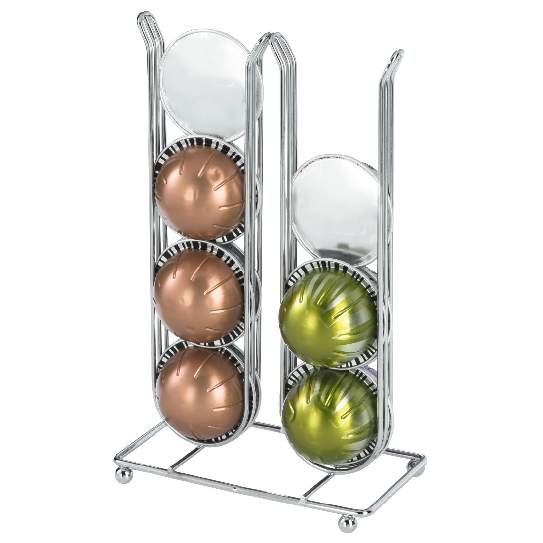 awx3 High-Res Appliance 3 - Xavax, Pilastro Coffee Capsule Stand for Dolce Gusto, 16 Capsules