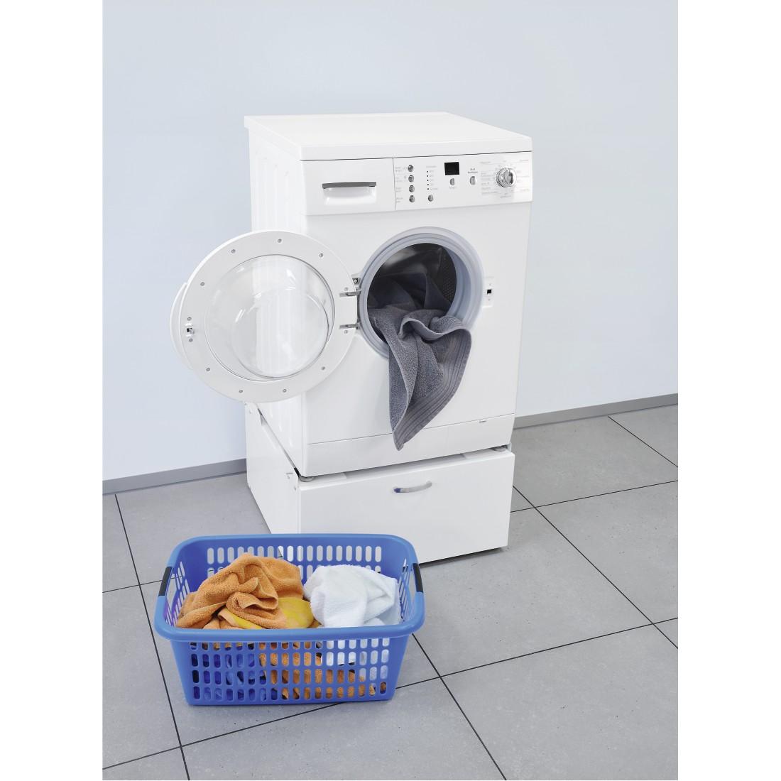 00111298 xavax unterbausockel f r waschmaschinen und trockner mit schublade 61 x 60 cm. Black Bedroom Furniture Sets. Home Design Ideas