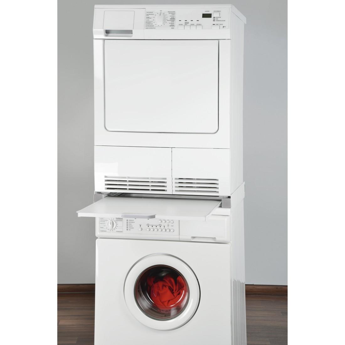 00111363 xavax zwischenbausatz f r waschmaschinen trockner mit ausziehplatte. Black Bedroom Furniture Sets. Home Design Ideas