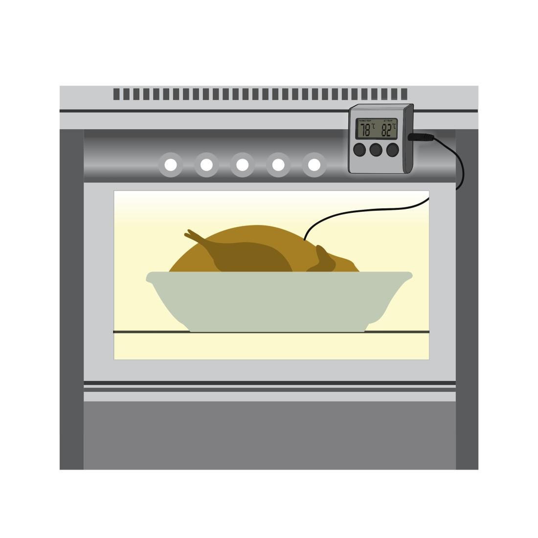 blanco electric oven how to set alarm
