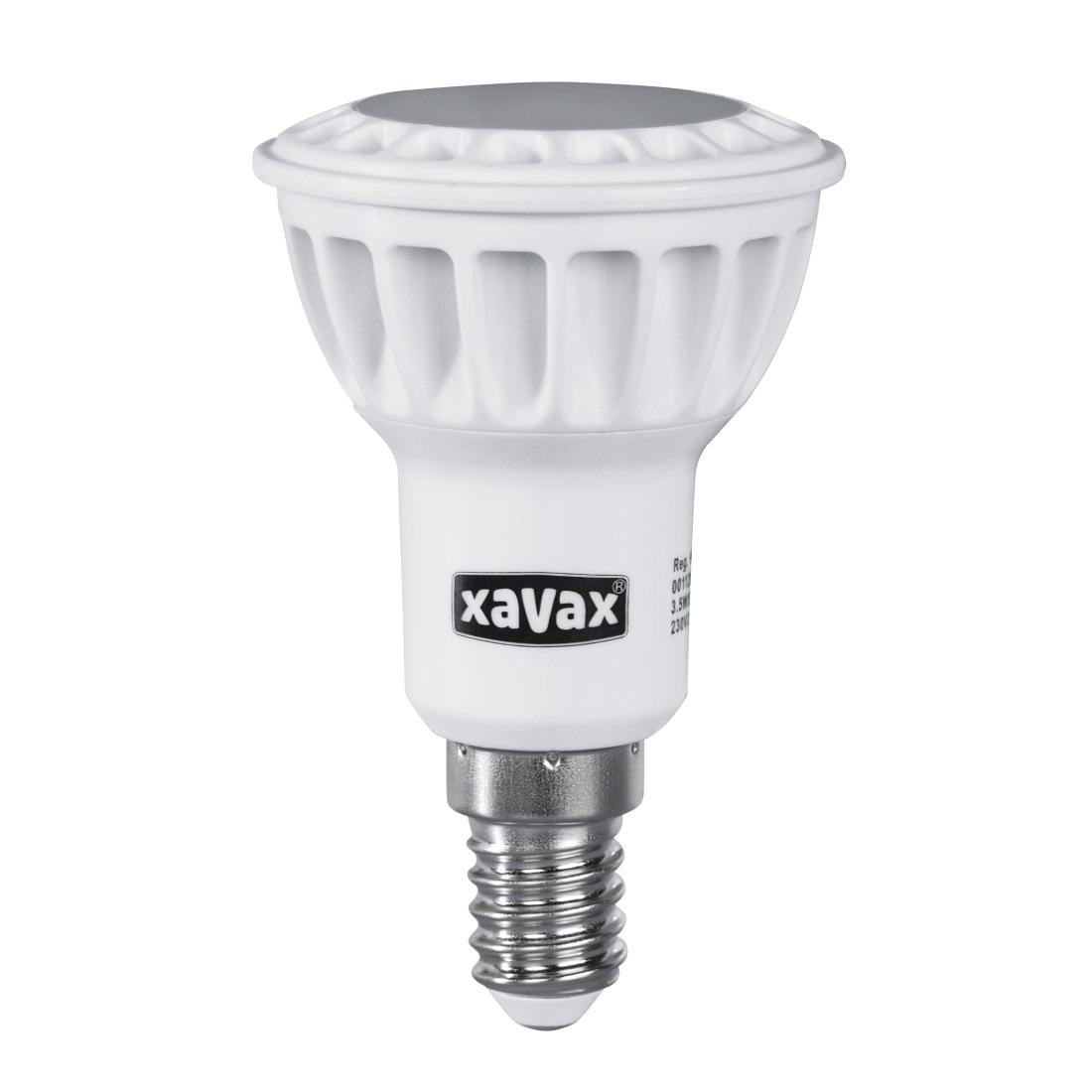 00112089 xavax led lampe e14 200lm ersetzt 25w reflektorlampe r50 warmwei. Black Bedroom Furniture Sets. Home Design Ideas