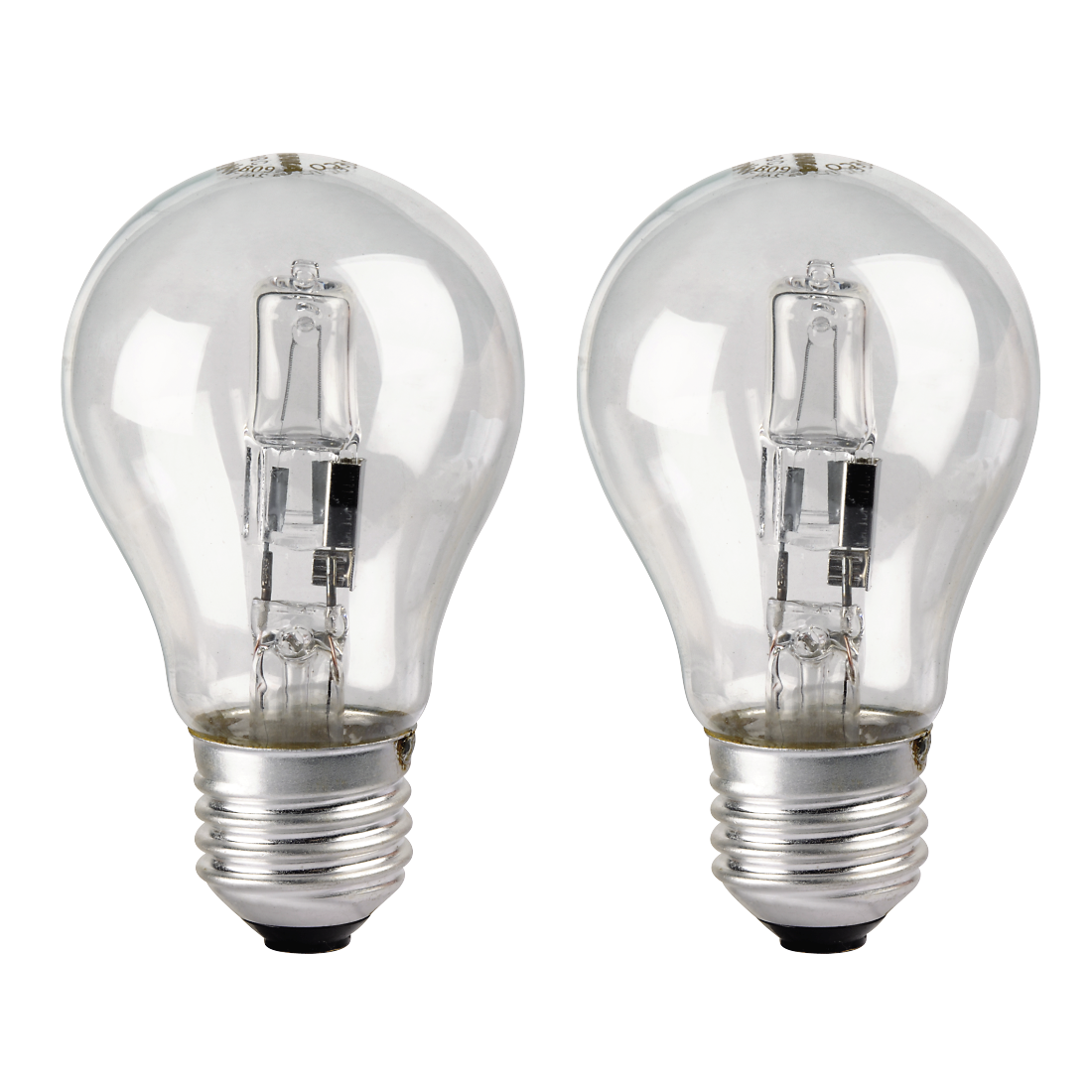00112451 xavax ampoule incandescence halog ne e27 30w blanc chaud 2 pi ces. Black Bedroom Furniture Sets. Home Design Ideas